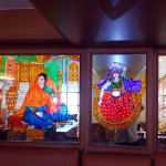Glass Painting- Restaurant