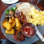 Yummy full breakfast