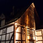 Paderborner Dorf am Abend