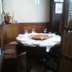 mesa del txoko