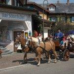 Pferdekutsche vor dem Hotel Schwarzwaldhof in Hinterzarten