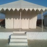 Deluxe Tent with attached bathroom