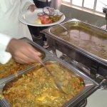Authentic Indian vegetarian cuisine.