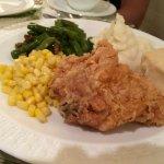 sample diner's plate