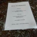 menu 11 euros en un lugar concurrido por locales