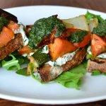 Roasted Veggie Tartine