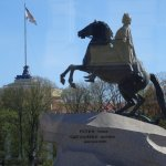 Statue of Peter the Great erected by Catherine the Great