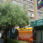Pubs and bars in Benidorm.