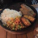 Casado with fish....Delicious!