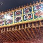 Wide range of menu