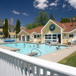 Year round outdoor heated pool