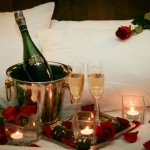 Ask about our room upgrades - we offer staging, flowers, champagne, & more!