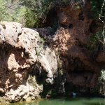 La cascada seca y el cisne