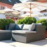 Lounge auf Terrasse