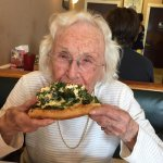 Even 94 year olds love Brother's Pizza.