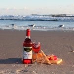 Grab a bottle of our wine for the beach!