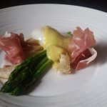 Asparagus and Prosciutto breakfast
