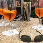 Tűztorony aperol spritz: Aperol, Gere olaszrizling, szóda, narancskarika