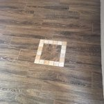 "new ""wood look"" tile flooring"