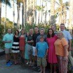 Family celebration picture