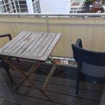 Balkon und Aussicht von der Juniorsuite