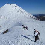 Volcanic Tours in Winter Tongariro Alpine Crossing
