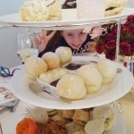 High tea with all food cooked on premises
