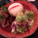 Duck dish with rice