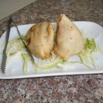 Indian Chimney tasty spicy Samosas