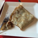 Nutella and Banana Crepe - the picture doesn't do it justice.