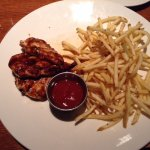 Barbeque Chicken and fries
