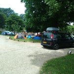 Free camping area