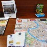 Mapas y algo para picar