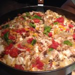 Chicken Philly Pizza