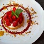 Excellente tarte aux fraises!