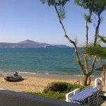 View from balcony towards Souda Bay
