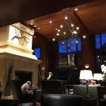 Lobby, larkspur dining area