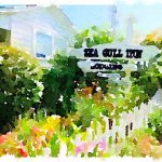 I used the filter app called waterlogue to produce this photo.
