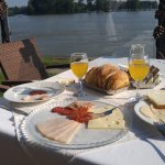 Breakfast on the Danube