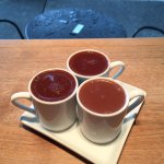 Drinking chocolate trio