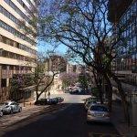 Vista da rua Barata Salgueiro, em frente ao Ibis Lisboa Liberdade