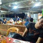 Suasana Dabu Dabu Lemong saat malam hari