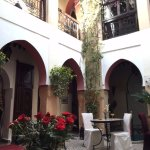 Courtyard of Riad Anabel