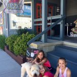 One of our many memories made at our favorite coffee shop in Bethany Beach. Worth the trip alway