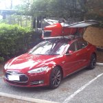 Chargeur disponible pour voiture TESLA et voiture electrique