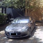 2 places de parking voiture Tesla et voiture electrique