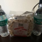 Complementary water and Nebraska popcorn