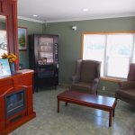 Front Office at Super 7 Motel London Ontario was pleasant