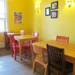Sit back and relax in our sunny dining room!