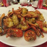 Ever-popular Sauteed Giant Lobster with Maggi sauce. Mediocre!